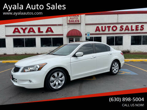 2009 Honda Accord for sale at Ayala Auto Sales in Aurora IL