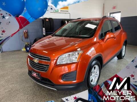 2016 Chevrolet Trax for sale at Meyer Motors in Plymouth WI