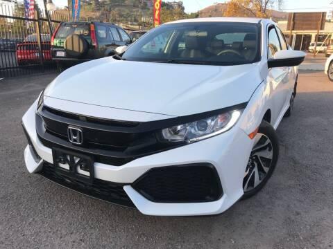 2017 Honda Civic for sale at Vtek Motorsports in El Cajon CA