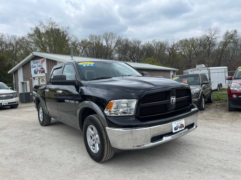 2012 RAM Ram Pickup 1500 for sale at Victor's Auto Sales Inc. in Indianola IA