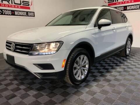 2018 Volkswagen Tiguan for sale at SIRIUS MOTORS INC in Monroe OH