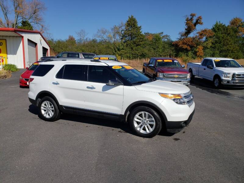 2014 Ford Explorer for sale at Greenwood Auto Sales in Greenwood AR