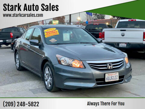 2012 Honda Accord for sale at Stark Auto Sales in Modesto CA