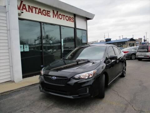2019 Subaru Impreza for sale at Vantage Motors LLC in Raytown MO