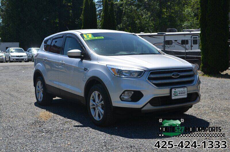2017 Ford Escape for sale in Bothell, WA