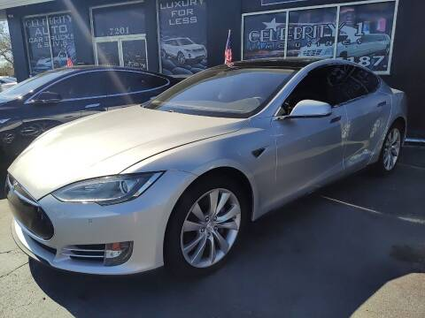 2014 Tesla Model S for sale at Celebrity Auto Sales in Port Saint Lucie FL