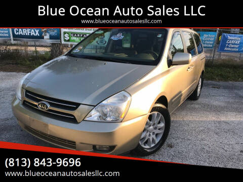 2007 Kia Sedona for sale at Blue Ocean Auto Sales LLC in Tampa FL