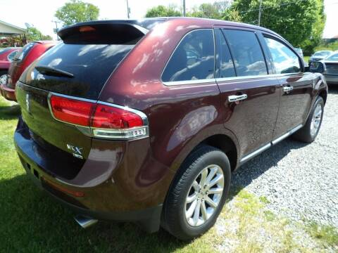 2012 Lincoln MKX for sale at English Autos in Grove City PA