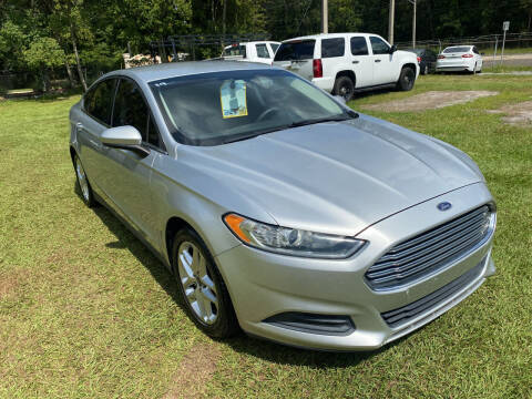 2014 Ford Fusion for sale at Carlyle Kelly in Jacksonville FL
