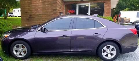 2015 Chevrolet Malibu for sale at Progress Auto Sales in Durham NC