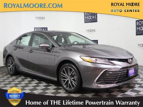 2021 Toyota Camry for sale at Royal Moore Custom Finance in Hillsboro OR