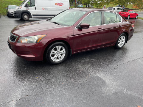 2010 Honda Accord for sale at KP'S Cars in Staunton VA