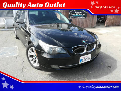 2010 BMW 5 Series for sale at Quality Auto Outlet in Vista CA