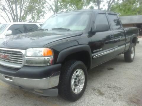2002 GMC Sierra 2500HD for sale at John 3:16 Motors in San Antonio TX
