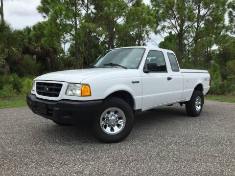 2003 Ford Ranger for sale at VICTORY LANE AUTO SALES in Port Richey FL