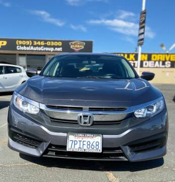 2016 Honda Civic for sale at Global Auto Group in Fontana CA