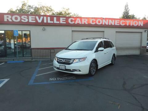 2014 Honda Odyssey for sale at ROSEVILLE CAR CONNECTION in Roseville CA