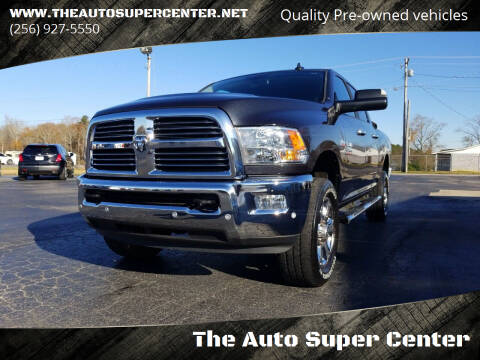 2017 RAM Ram Pickup 2500 for sale at The Auto Super Center in Centre AL