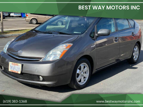2007 Toyota Prius for sale at BEST WAY MOTORS INC in San Diego CA