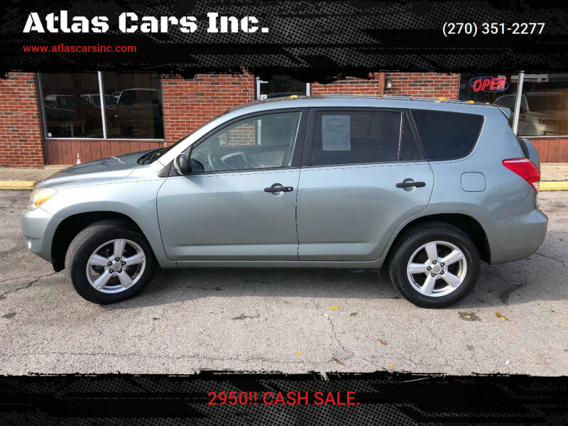 2008 Toyota RAV4 for sale at Atlas Cars Inc. in Radcliff KY
