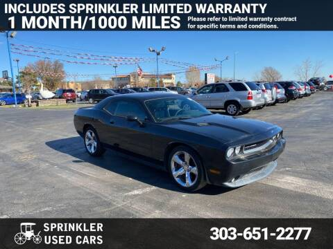 2014 Dodge Challenger for sale at Sprinkler Used Cars in Longmont CO