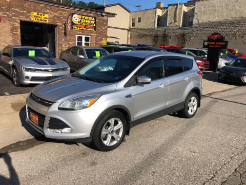 2015 Ford Escape for sale at STEEL TOWN PRE OWNED AUTO SALES in Weirton WV
