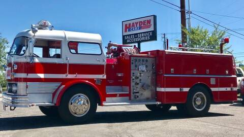 1967 Mack Fire Truck for sale at Hayden Cars in Coeur D Alene ID