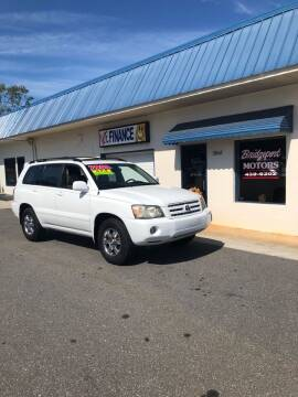 2006 Toyota Highlander for sale at BRIDGEPORT MOTORS in Morganton NC