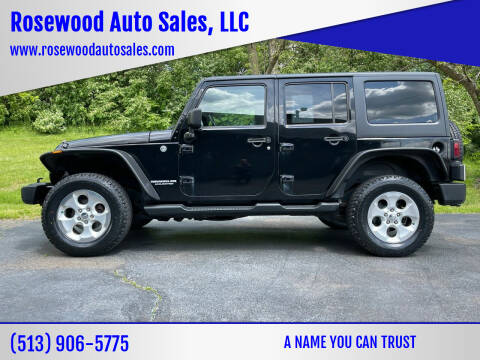 2011 Jeep Wrangler Unlimited for sale at Rosewood Auto Sales, LLC in Hamilton OH