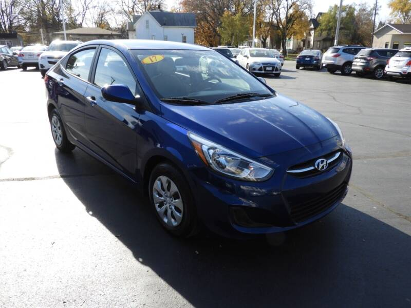 2017 Hyundai Accent for sale at Grant Park Auto Sales in Rockford IL
