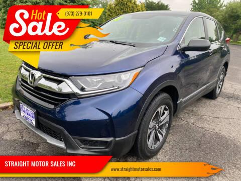 2018 Honda CR-V for sale at STRAIGHT MOTOR SALES INC in Paterson NJ