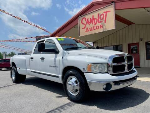 2005 Dodge Ram Pickup 3500 for sale at Sandlot Autos in Tyler TX