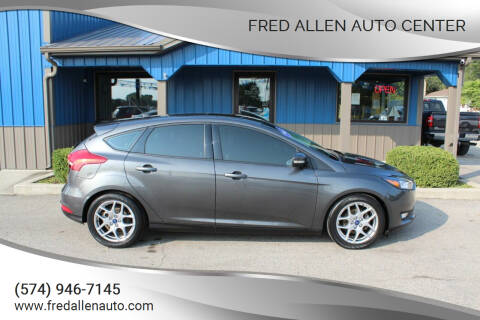 2015 Ford Focus for sale at Fred Allen Auto Center in Winamac IN