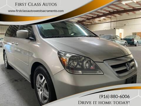 2005 Honda Odyssey for sale at Car Source Center in West Sacramento CA
