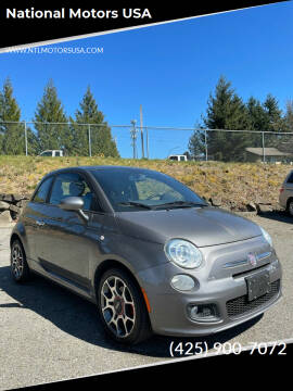 2012 FIAT 500 for sale at National Motors USA in Federal Way WA