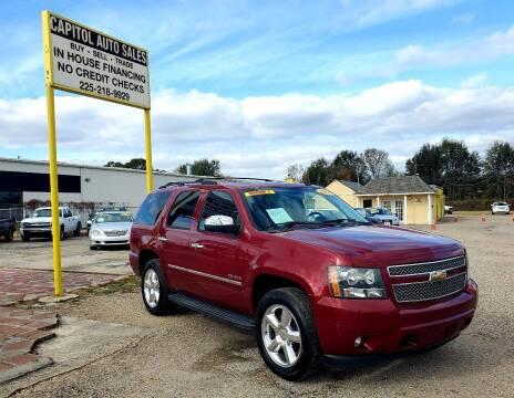 2009 Chevrolet Tahoe for sale at CAPITOL AUTO SALES LLC in Baton Rouge LA