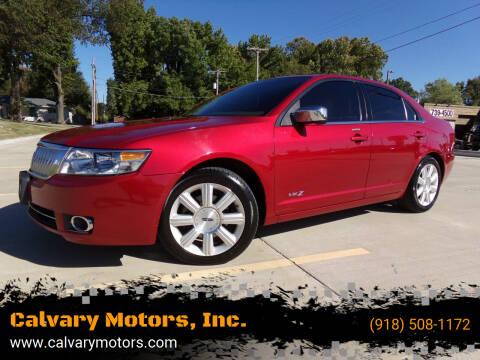 2008 Lincoln MKZ for sale at Calvary Motors, Inc. in Bixby OK