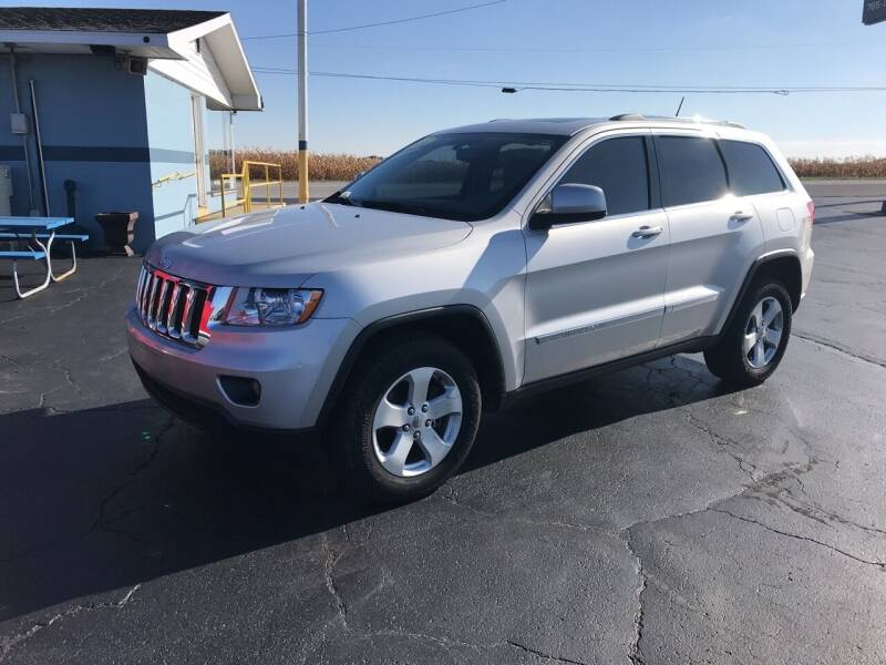 2011 Jeep Grand Cherokee for sale at Huggins Auto Sales in Hartford City IN