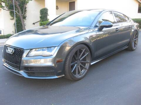 2013 Audi A7 for sale at E MOTORCARS in Fullerton CA