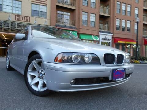 2002 BMW 5 Series for sale at H & R Auto in Arlington VA