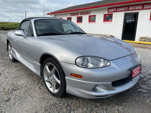 2003 Mazda MX-5 Miata for sale at Sarpy County Motors in Springfield NE