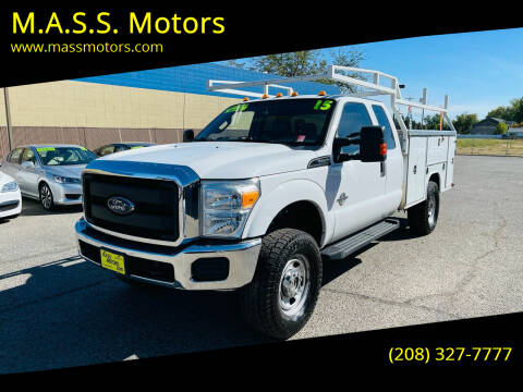 2015 Ford F-350 Super Duty for sale at M.A.S.S. Motors in Boise ID