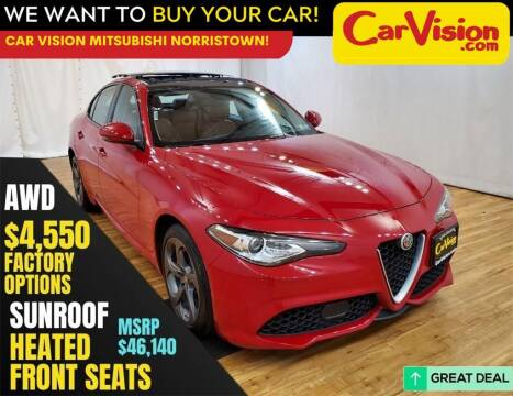 2019 Alfa Romeo Giulia for sale at Car Vision Mitsubishi Norristown in Trooper PA