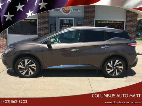 2016 Nissan Murano for sale at Columbus Auto Mart in Columbus NE
