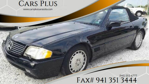 1991 Mercedes-Benz 500-Class for sale at Cars Plus in Sarasota FL