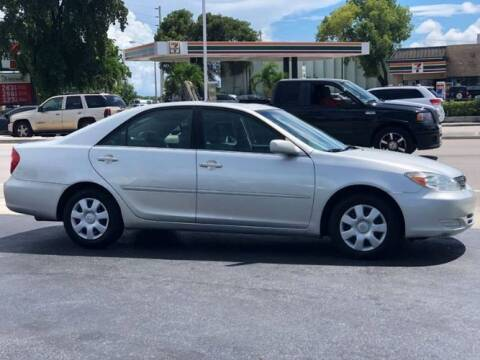 2002 Toyota Camry for sale at Classic Car Deals in Cadillac MI