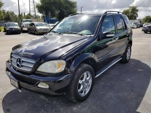 2003 Mercedes-Benz M-Class for sale at A To Z Auto Sales in Apopka FL