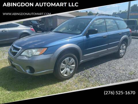 2008 Subaru Outback for sale at ABINGDON AUTOMART LLC in Abingdon VA