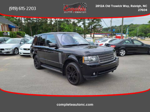 2010 Land Rover Range Rover for sale at Complete Auto Center , Inc in Raleigh NC