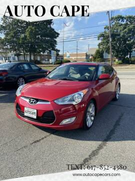 2012 Hyundai Veloster for sale at Auto Cape in Hyannis MA